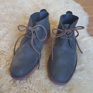 Sperry Top-Sider Gray Leather Chukka Desert Boot